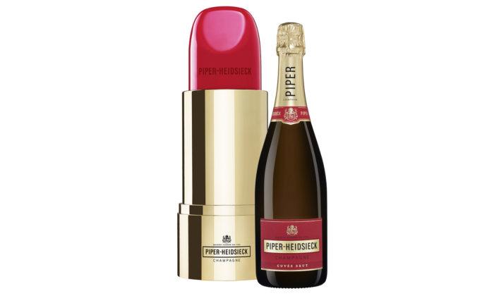 Šampaňské Piper-Heidsieck přichází slimitovanou edici Lipstick