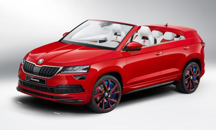Čeští studenti navrhli funkční koncept kabrioletu Škoda Sunroq
