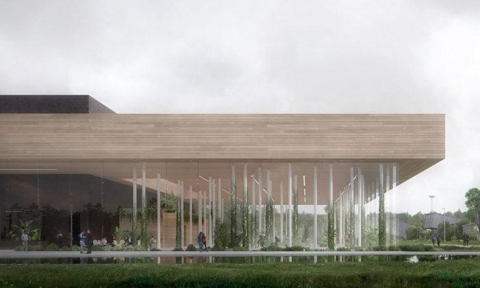 Snøhetta navrhla datové centrum budoucnosti The Spark vytápějící město