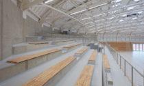 Sportovní hala Dolní Břežany od ateliéru Sporadical