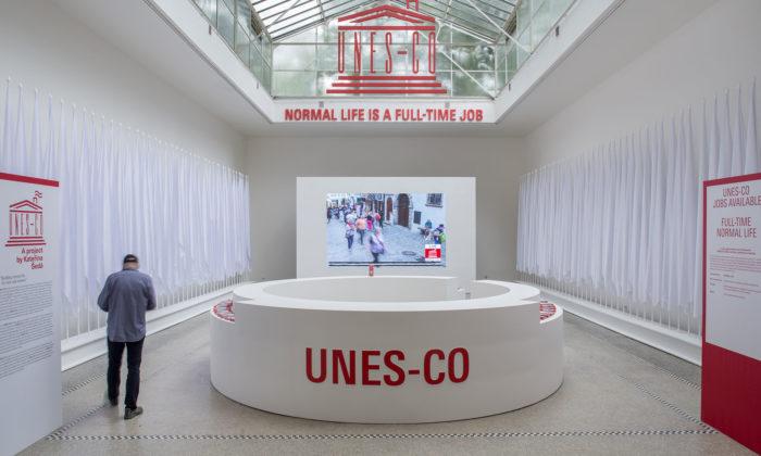 Česko senaBienále vBenátkách prezentuje výtvarným projektem UNES-CO