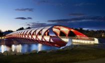 Santiago Calatrava: Peace Bridge, Calgary, Kanada © Alan Karchmer
