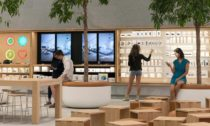 Apple Store na Piazza Liberty v Miláně od Foster + Partners
