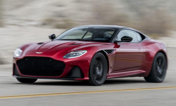 Aston Martin představil agresivnější avýkonnější sporťák DBS Superleggera