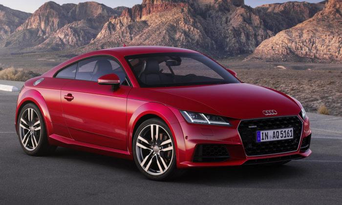 Audi TT slaví 20 let apřichází smodernizovanou třetí generací
