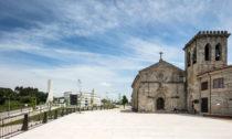 Kostel S. Tiago de Antas v portugalském Vila Nova de Famalicão