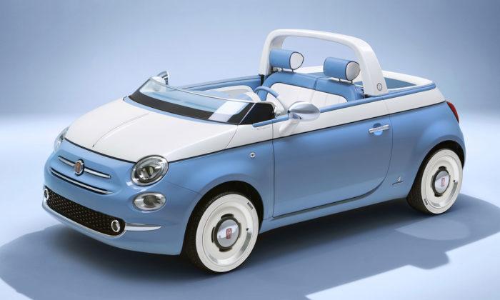 Fiat slaví šedesátiny modelu 500 Jolly konceptem Spiaggina odGarage Italia