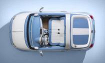Fiat 500 ve verzi Spiaggina od Garage Italia