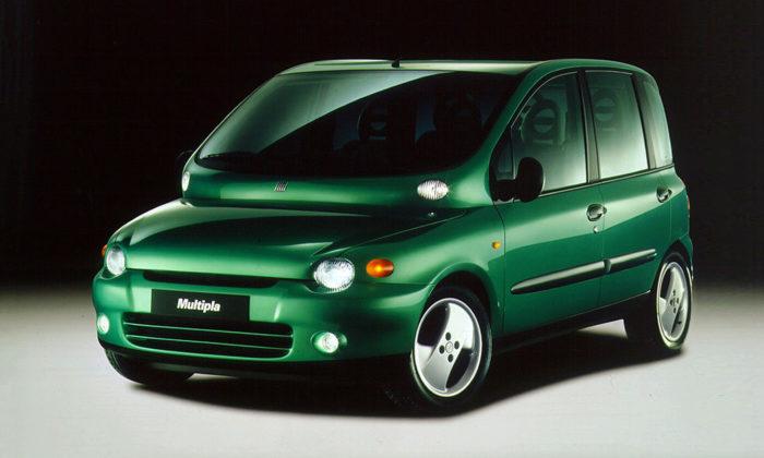 Kontroverzní aprůkopnický vůz Fiat Multipla slaví 20.výročí