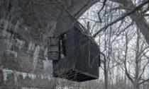 Černý létající dům odH3T Architekti