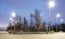 České lavičky od Mmcité u stadionu Lužniki v Moskvě