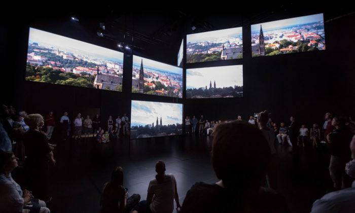 Česká filharmonie vytvořila putovní audiovizuální instalaci Má vlast