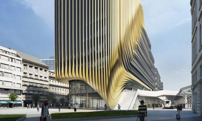 Masarykovo nádraží ajeho okolí semá proměnit podle Zahy Hadid doroku 2025