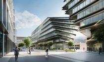 Projekt revitalizace v okolí Masarykova nádraží jako Central Business District od Zaha Hadid Architects