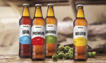 Piva pivovaru Primátor vnovém designu láhví aetiket
