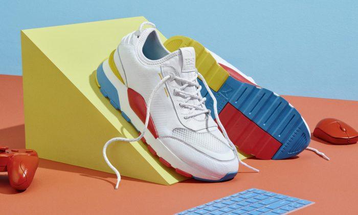 Puma uvádí tenisky RS-0 Play inspirované retro hrami z80.let