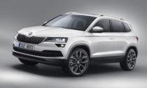 Škoda Karoq v běžné produkční verzi