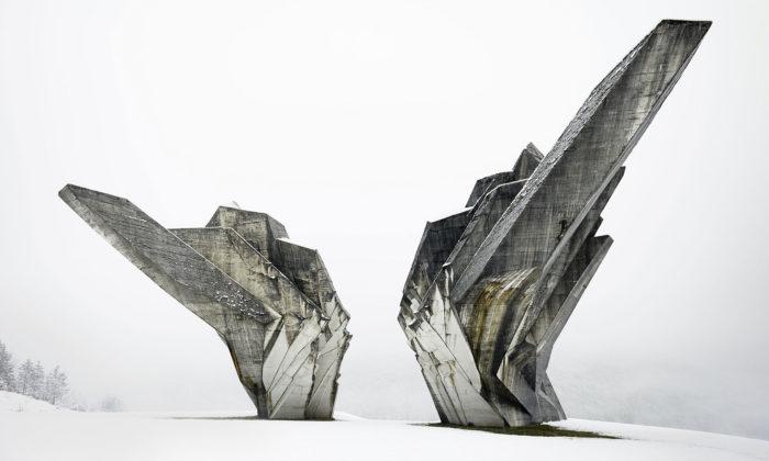 MoMA vystavuje utopistickou betonovou architekturu tehdejší Jugoslávie