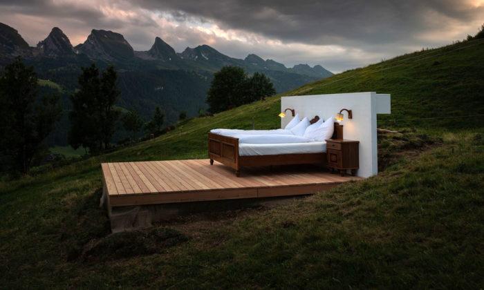 Zero Real Estate Hotel nabízí tři pokoje vhorách pod širým nebem