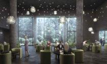 Agobili Hotel v Gruzii od Henning Larsen