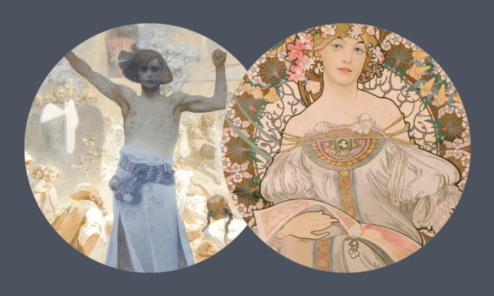 Brno vystavuje přes 150 nejznámějších děl malíře agrafika Alfonse Muchy