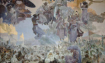 Alfons Mucha a ukázka z výstavy Dva světy v Brně
