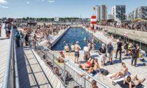 Aarhus Harbour Bath od BIG