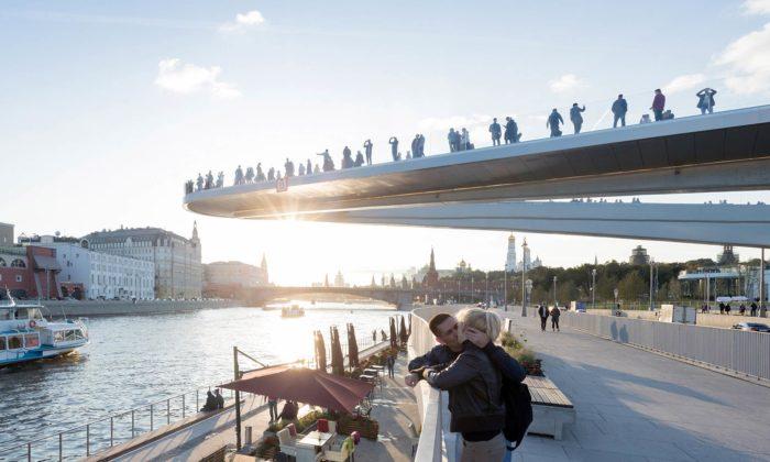 Moskva nahradila hotel vcentru města parkem Zaryadye svyhlídkou nad řekou