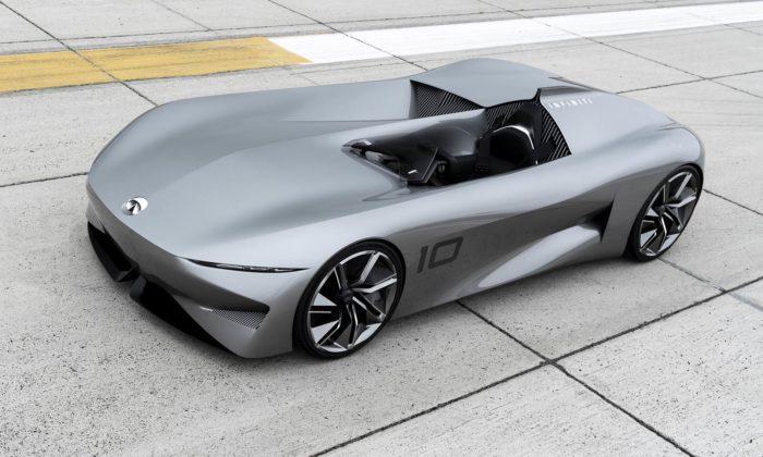 Infiniti přepracovalo klasický speedster nafuturistický Prototype 10