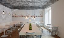 Restaurace Lasagneria v Praze od studia Mar.s Architects