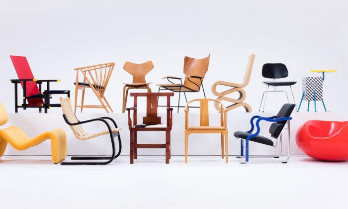 Stockholm vystavuje 700 ikon nábytku od250 designérů za posledních 100 let