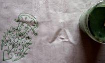 Ukázka z výstavy Modrotisk tradiční a netradiční