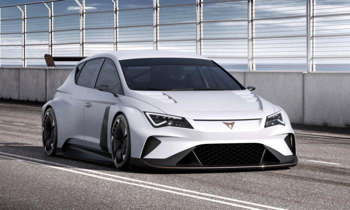 Cupra e-Racer jeprvní 100procentně elektrický závodní vůz nasvětě