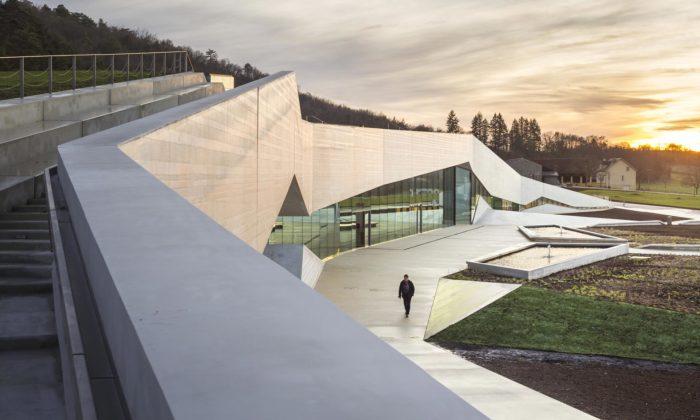 Snøhetta postavila vLascaux mezinárodní centrum pro jeskynní umění