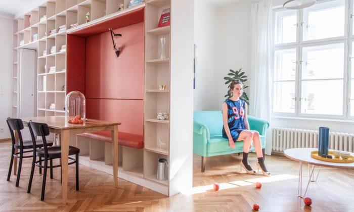 DDAANN zrekonstruovali pro mladý manželský pár starý byt naŽižkově