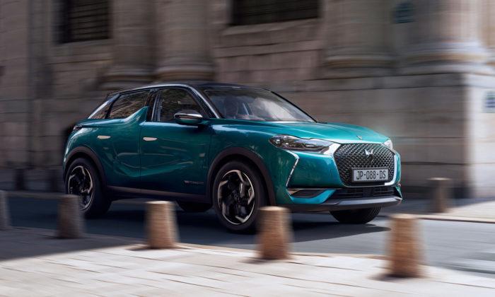 Francouzské DS ukázalo městské SUV selektrickým pohonem DS3 Crossback