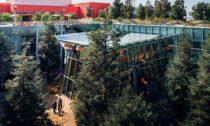 Rozšíření sídla společnosti Facebook vMenlo Park podle Franka Gehryho