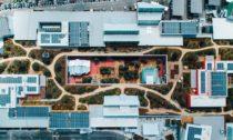 Rozšíření sídla společnosti Facebook v Menlo Park podle Franka Gehryho