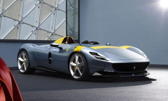 Ferrari odhalilo limitovanou edici speedsterů Monza SP1 aSP2