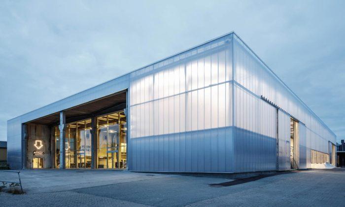 V Dánsku přestavěli starou továrnu nacentrum street sportu astreet artu