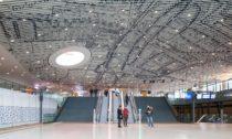 Radnice svlakovým nádražím vDelftu odMecanoo