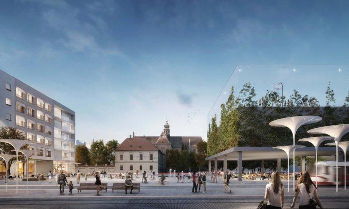Mendlovo náměstí vBrně sepromění podle návrhu dvojice Palaščák aPoláš