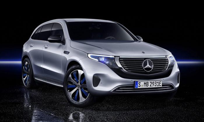 Mercedes-Benz ukázal své první čistě elektrické SUV sejménem EQC