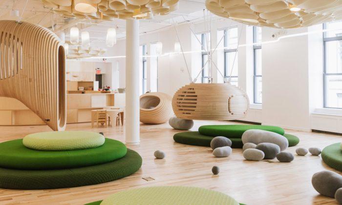 BIG navrhli interiér první newyorské školy WeGrow pro výuku ve21.století
