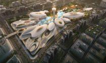Aljada Central Hub odZaha Hadid Architects veSpojených arabských emirátech