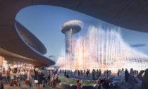 Aljada Central Hub od Zaha Hadid Architects ve Spojených arabských emirátech