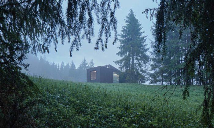 Ve slovenských Kysucích vyrostlo nenápadné rekreační útočiště Ark Shelter