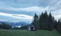 Ark Shelter ve slovenských Kysucích od dvojice Michiel De Backer a Martin Mikovčák