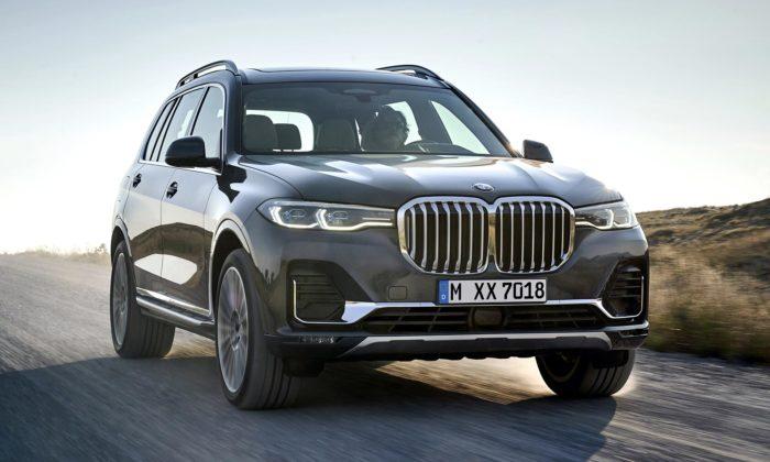 BMW ukázalo své největší anejluxusnější SUV snovým označením X7