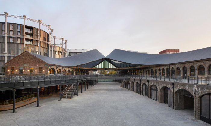 V Londýně přestavěli uhelné sklady namultifunkční komplex sespojenými střechami